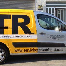 Servicio técnico dental - Desplazamientos en las provincias de Alicante, Murcia, Albacete y Valencia